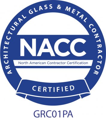 North American Contractor Certification (NACC) for Architectural Glass and Metal